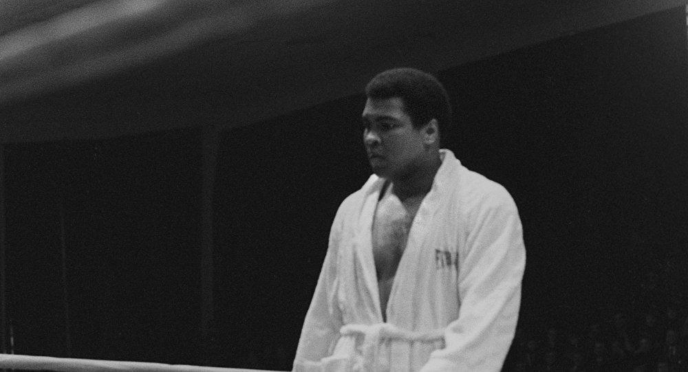 Mahhamad Ali em Moscou, 15.07.1976