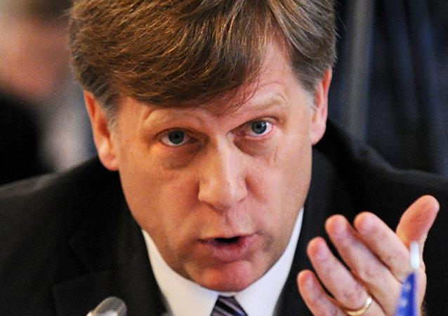O ex-embaixador dos EUA na Rússia Michael McFaul