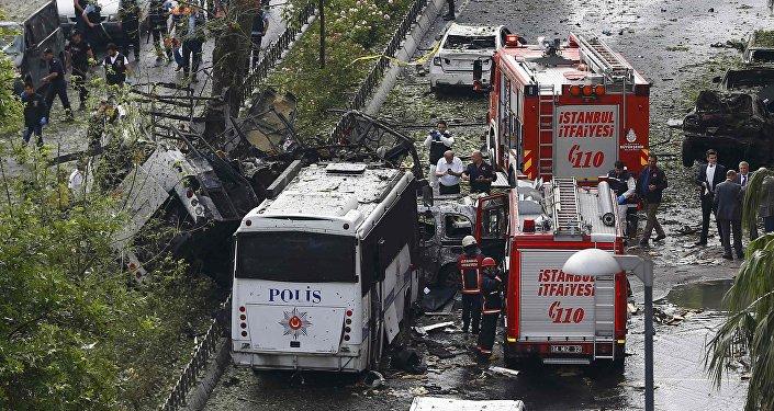 Esplosão na capital turca 7 de junho