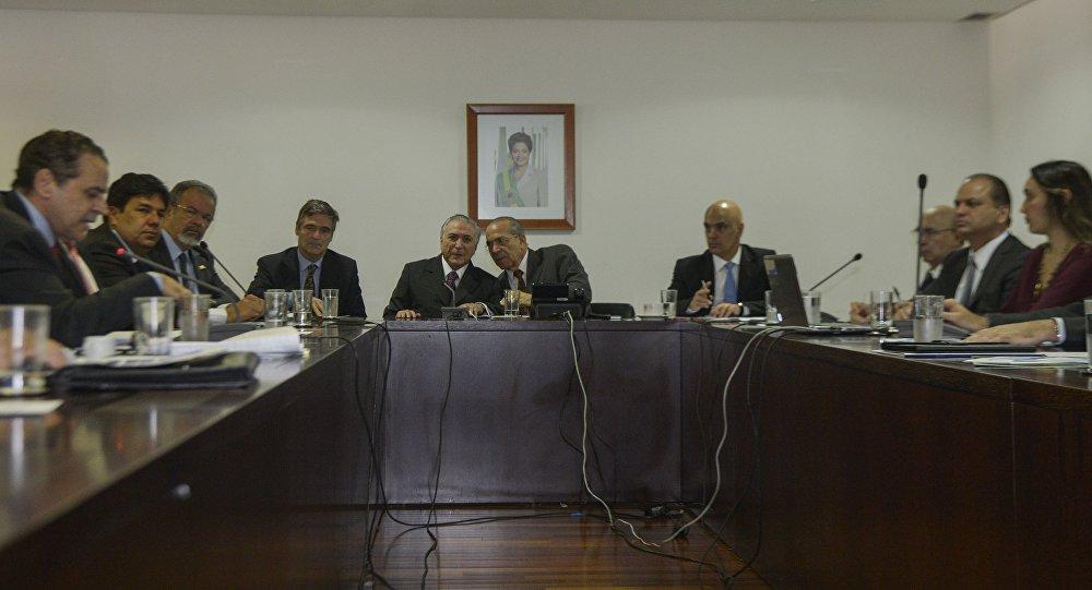 Reunião interministerial debate preparativos para os Jogos Rio 2016.