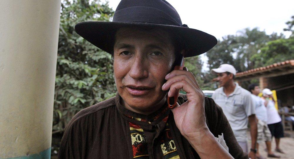 Rafael Quispe, deputado do partido opositor boliviano Unidade Nacional (UN)