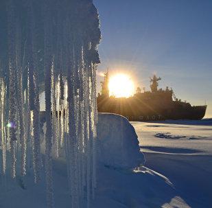 Missão de desbravamento no Ártico