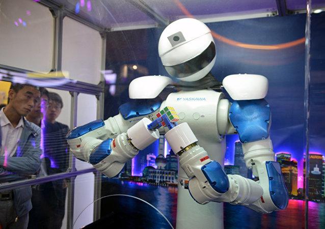 um robô chinês