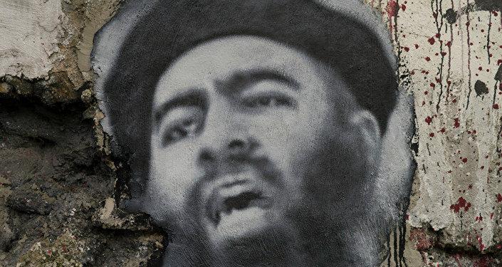 O retrato de Abu Bakr al-Baghdadi