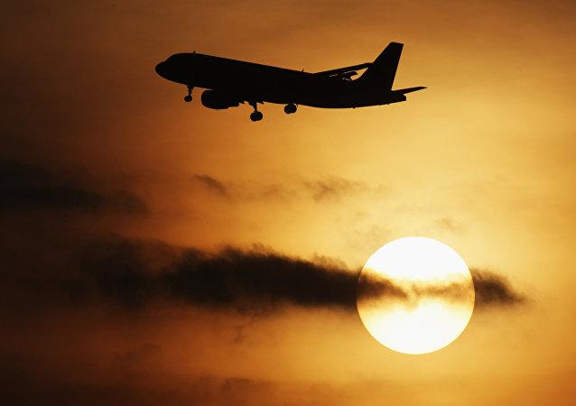 Avião passageiro A-319