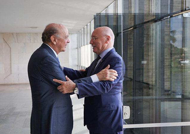 Visita do Ministro das Relações Exteriores do Paraguai, Sr. Eladio Loizaga
