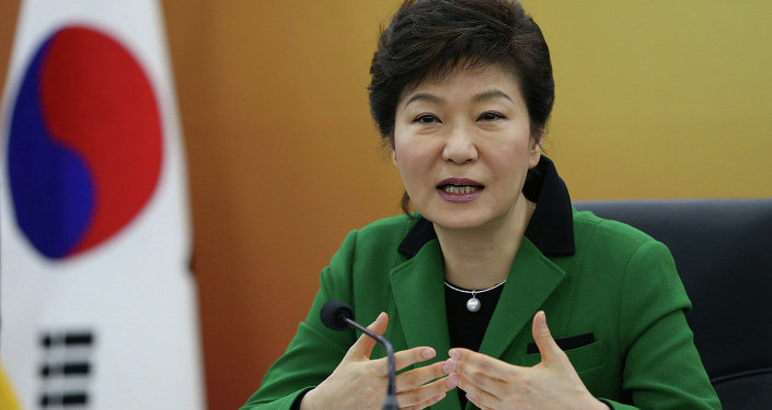 Park Geun-hye, a presidente da Coreia do Sul