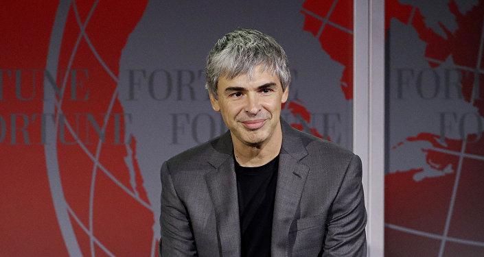 Larry Page, fundador do Google