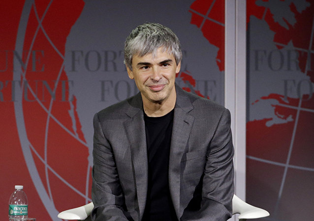Larry Page, fundador do Google