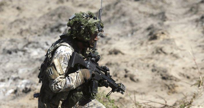 Militar letão, Saber Strike 2015