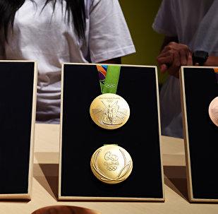 As medalhas para Jogos Olímpicos e Paraolímpicos no Rio de Janeiro