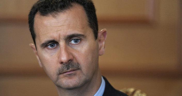 Presidente sírio, Bashar al-Assad