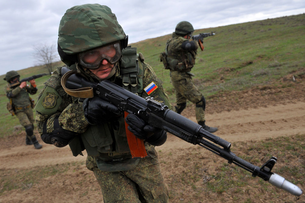 Exercícios do Exército da Rússia no sul do país