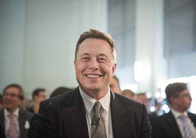 O bilionário Elon Musk
