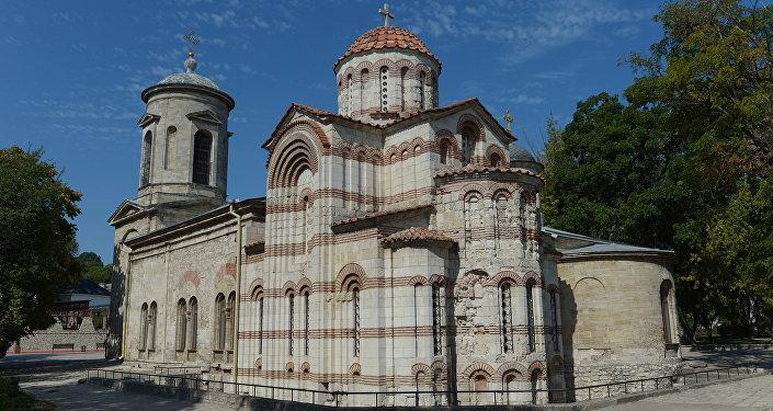 A igreja de João Batista,Kerch, Crimeia