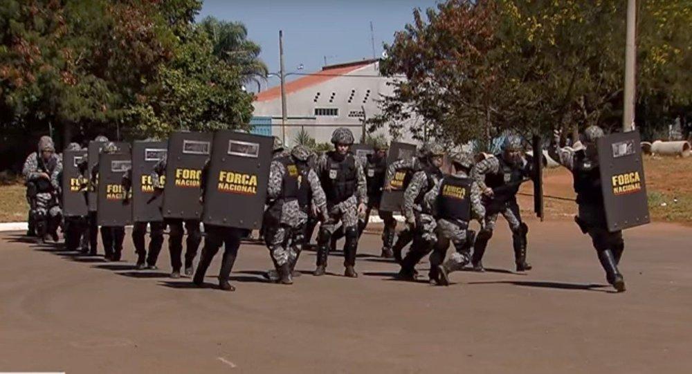Força Nacional reforça segurança nos Jogos Rio 2016.