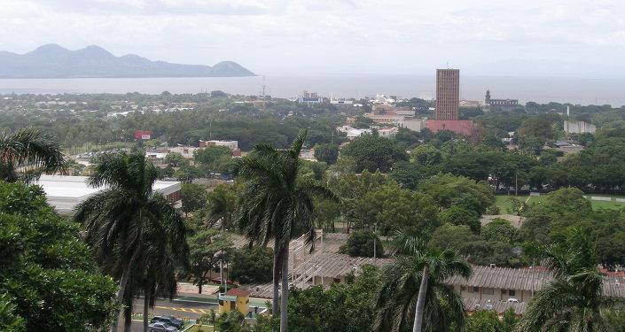 Managua, capital nicaraguense