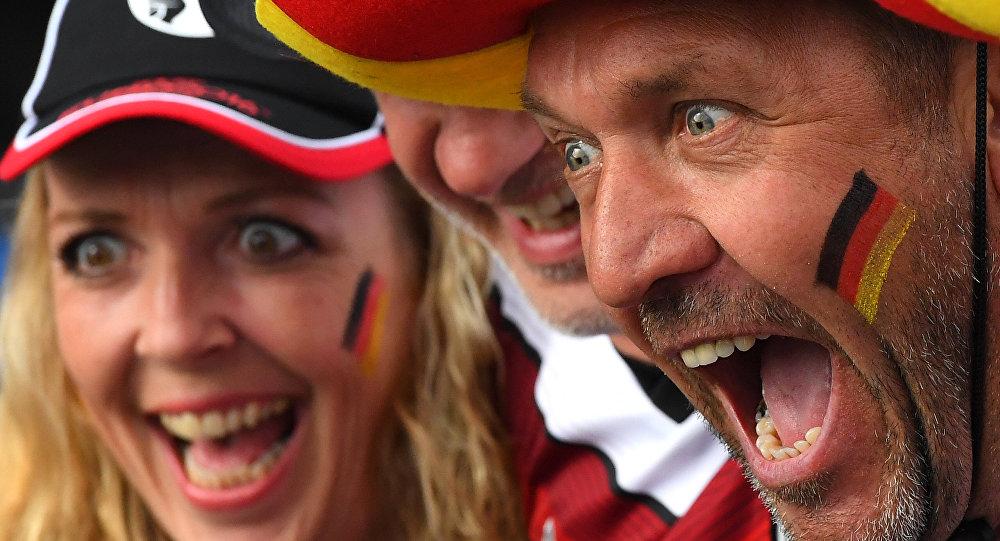 Torcedores alemães na Eurocopa