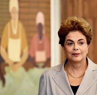 Dilma Rousseff, a presidente afastada