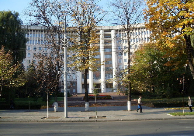 Parlamento da Moldávia, em Chisinau