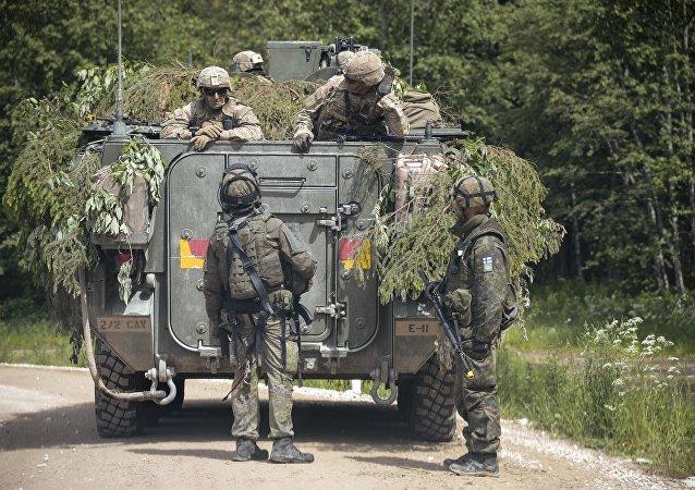 Saber Strike 2016, Estônia