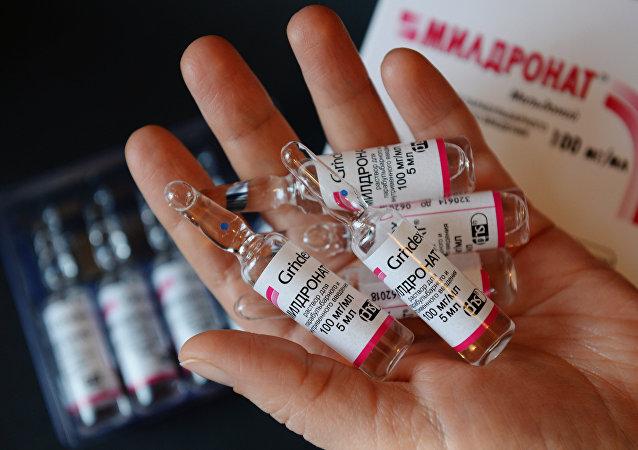 Meldonium proibido pela Agência Mundial Anti-doping