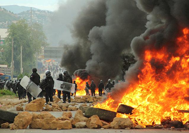 Distúrbios em Oaxaca