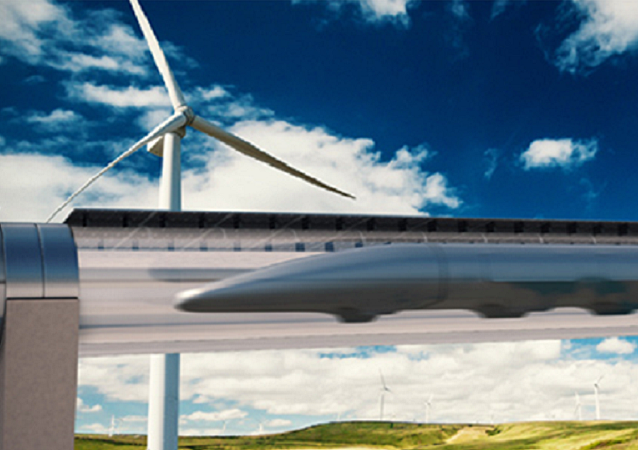 Sistema de Transporte Hyperloop