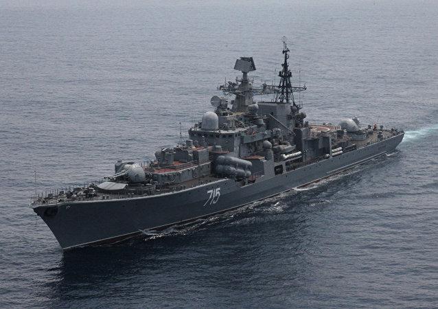 Destróier Bystry da Frota russa do Pacífico