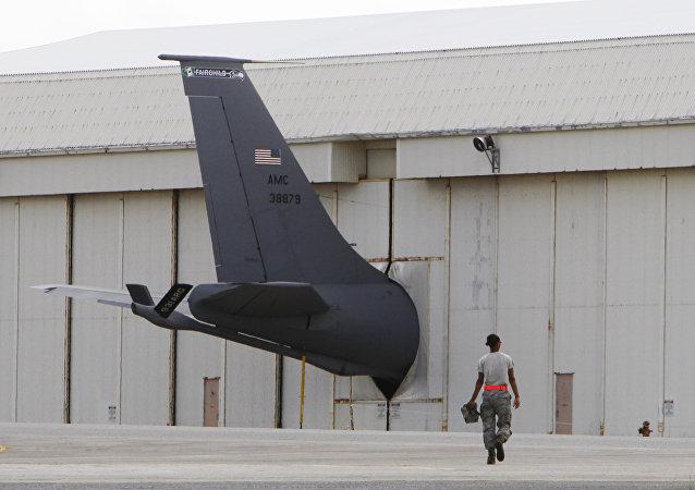 Base aérea dos EUA, Kadena, em Okinawa, no Japão