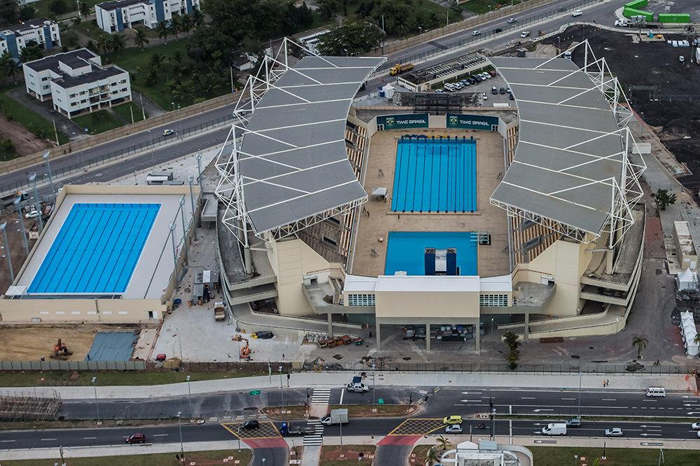 Maria Lenk e Arena Rio
