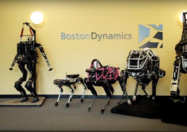 Cães-robôs – o último desenvolvimento da empresa Boston Dynamics