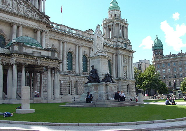 Belfast, capital da Irlanda do Norte