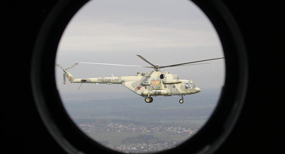 Helicóptero MI-17 da aeronáutica russa