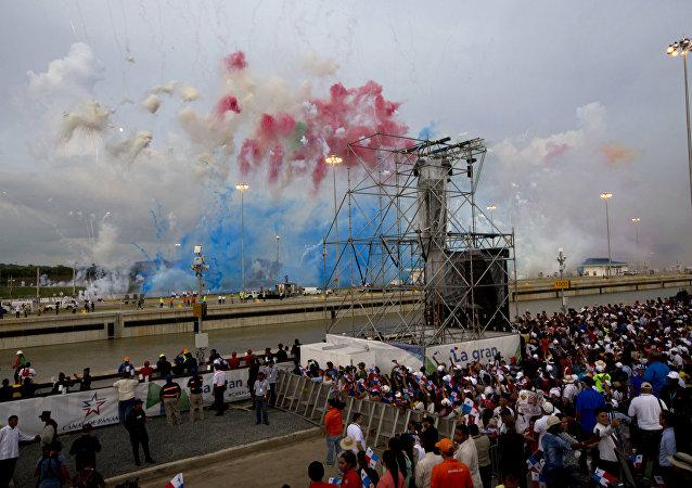 O Canal do Panamá ampliado foi inaugurado em 26 de junho de 2016