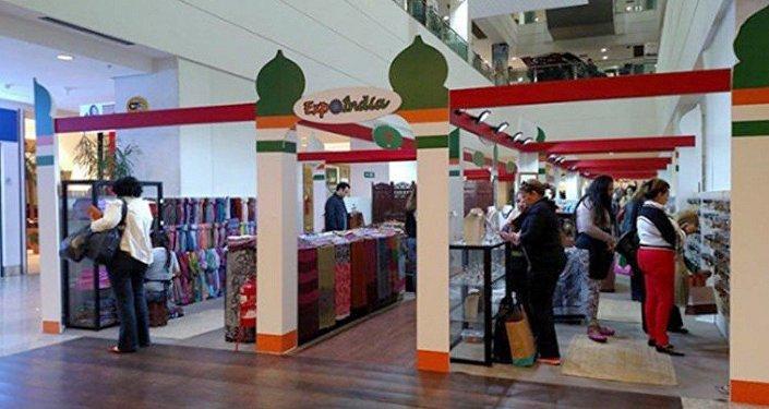 Expo Índia no Shopping Tijuca, na Zona Norte do Rio