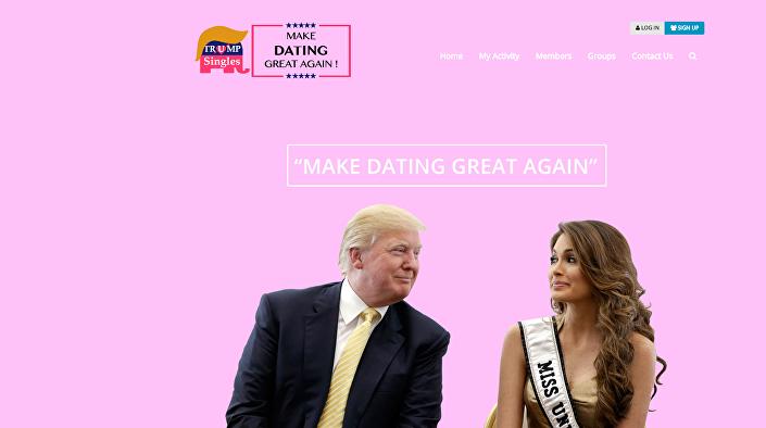site TrumpSingles.org