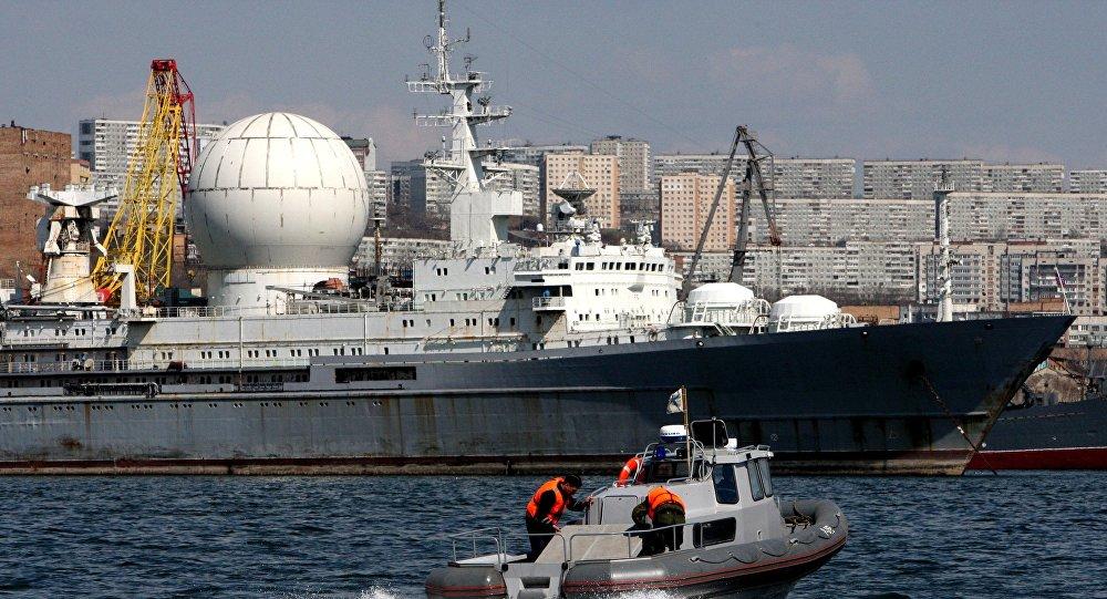 o navio Marshal Krylov