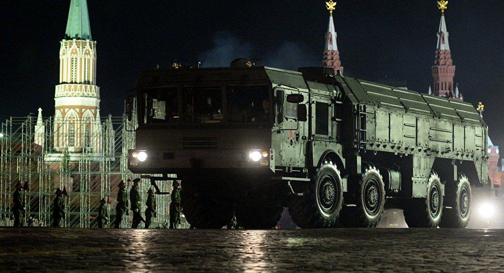 O sistema de mísseis balísticos Iskander