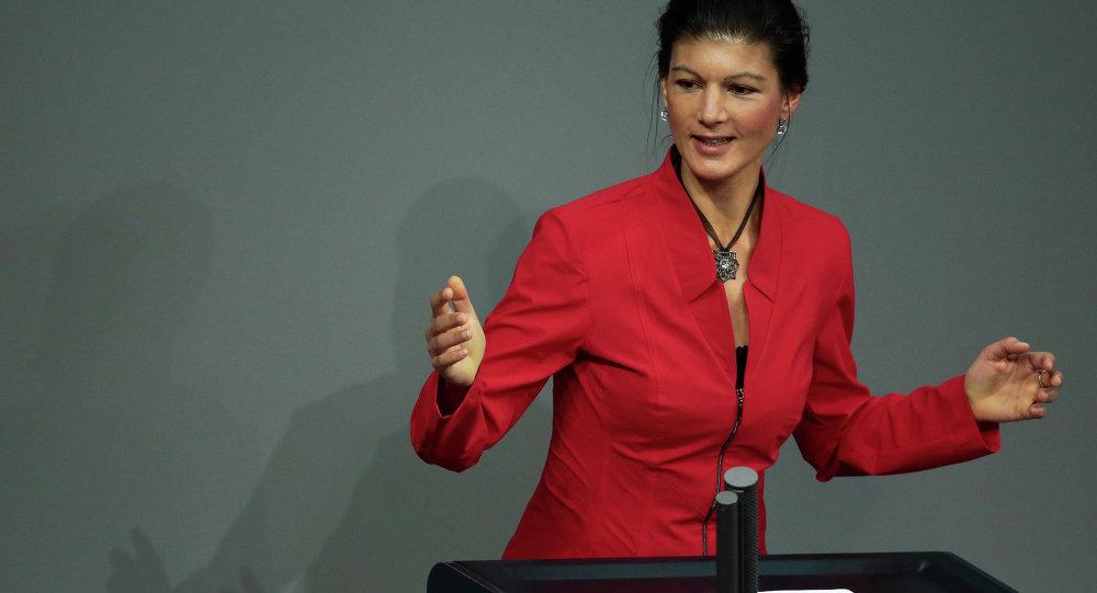 Sahra Wagenknecht, Linke-Vizefraktionschefin im Bundestag