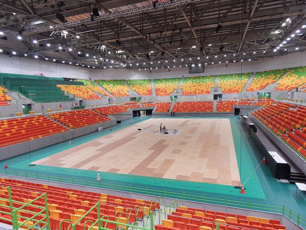 A Arena do Futuro receberá as competições de handebol e golbol na Rio 2016