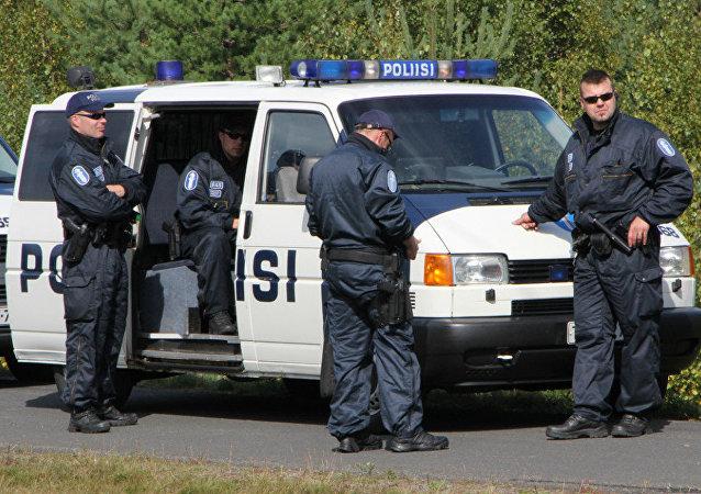 Polícia da Finlândia