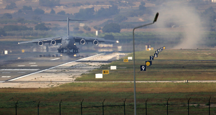 Base aérea de Incirlik nos arredores da cidade de Adana, sul da Turquia (foto de arquivo)