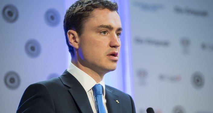 Taavi Roivas, primeiro-ministro da Estônia