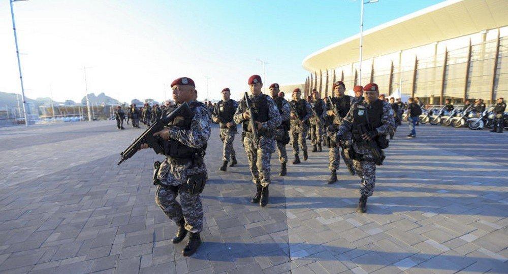 Força Nacional de Segurança assume patrulhamento das áreas de competições dos jogos Rio 2016