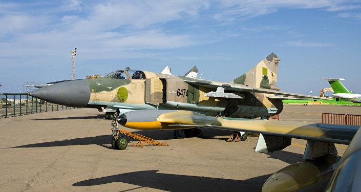 MiG-23 da Força Aérea da Líbia