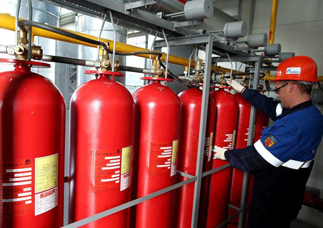 Reservatório subterráneo de gás