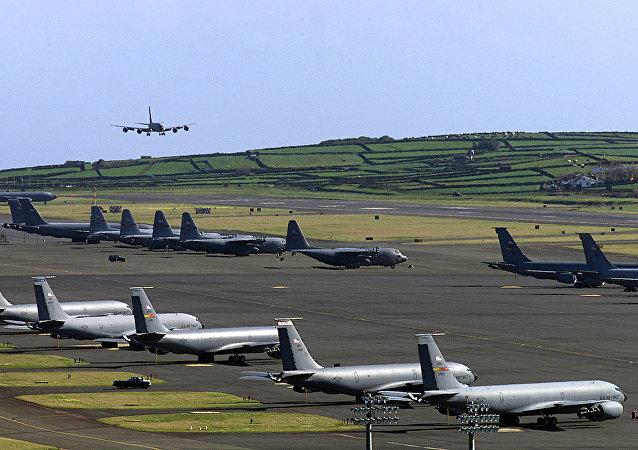 Base aérea das Lajes, Açores, Portugal