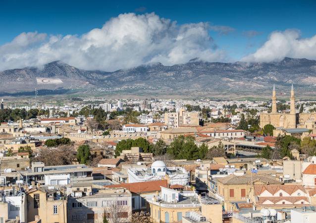 Nicósia, capital do Chipre, país que se encontra dividido desde 1974