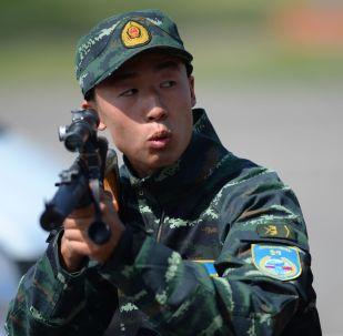 """Inauguração dos exercícios táticos conjuntos das forças especiais da Guarda Nacional russa e da Polícia Armada Popular chinesa """"Cooperação-2016"""""""